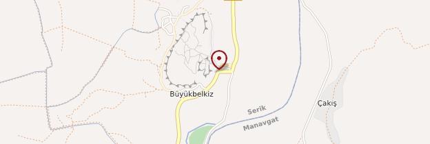 Carte Aspendos - Turquie