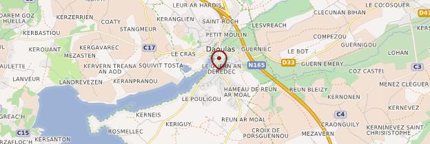 Carte Daoulas - Bretagne
