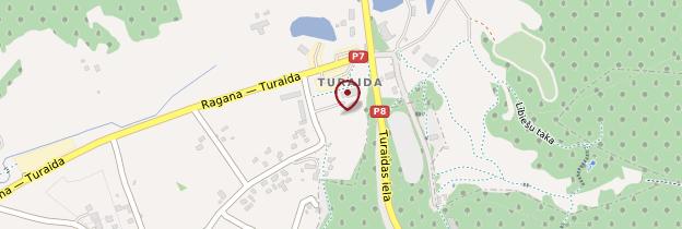Carte Château de Turaida - Lettonie