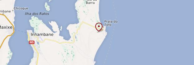 Carte Tofo - Mozambique