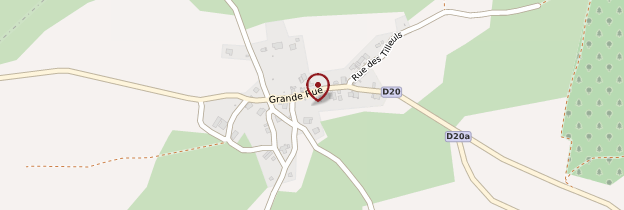 Carte Germéfontaine - Franche-Comté