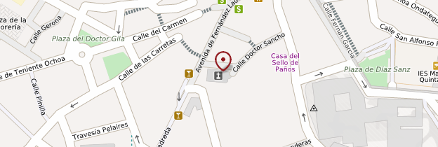Carte Iglesia de San Clemente - Espagne