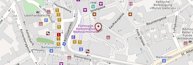 Carte Musée d'histoire de Bâle - Suisse