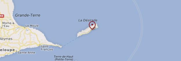 Carte Le Souffleur - Guadeloupe