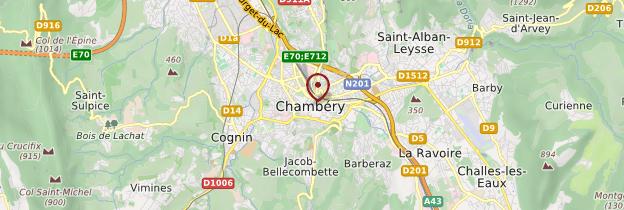 Carte Chambéry - Alpes
