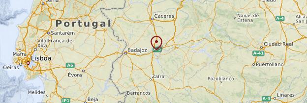 Carte Mérida - Espagne
