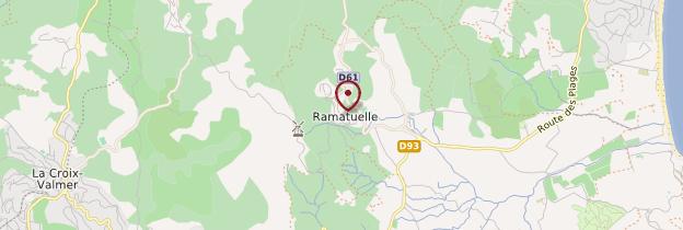 Carte Ramatuelle - Côte d'Azur