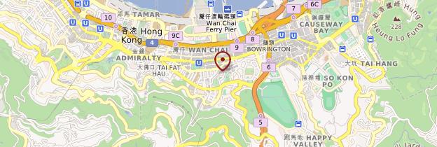 Carte Wan Chai - Hong Kong