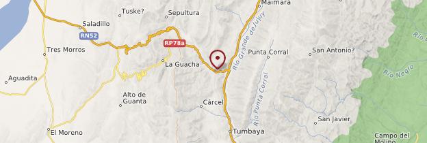 Carte Purmamarca - Argentine