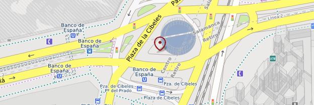 Carte Plaza de Cibeles - Madrid