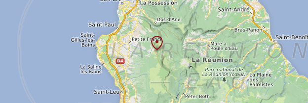 Carte Piton Maïdo - Réunion