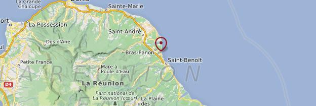 Carte Bras-Panon - Réunion