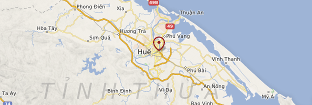Carte Huế - Vietnam