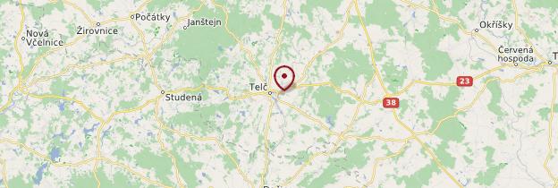 Carte Telč - République tchèque