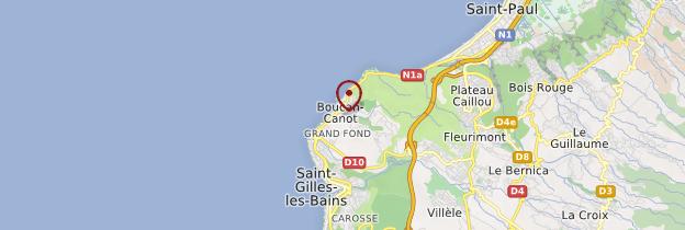 Carte Boucan-Canot - Réunion