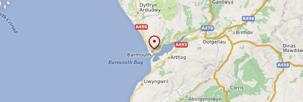 Carte Barmouth - Pays de Galles