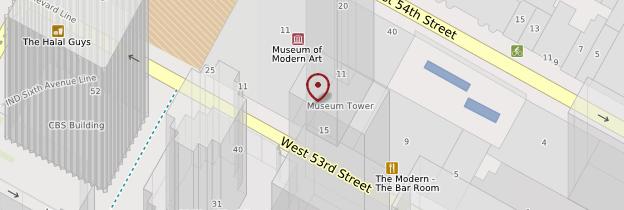 Carte Museum of Modern Art (MoMA) - New York