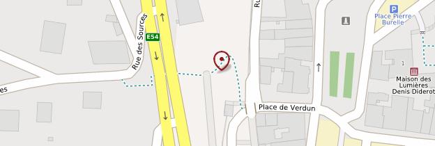Carte Porte de l'Hôtel de ville - Champagne-Ardenne