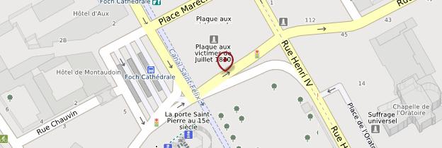 Carte Place Maréchal-Foch - Nantes