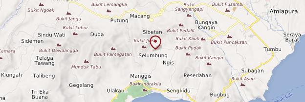 Carte Manggis - Bali