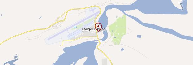 Carte Kangerlussuaq - Groenland