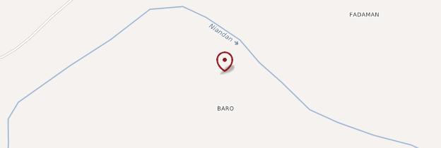 Carte Baro - Guinée