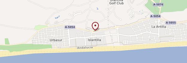 Carte Andalousie Islantilla.Islantilla Costa De La Luz Guide Et Photos Andalousie