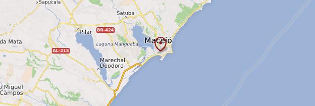 Carte Maceió - Brésil