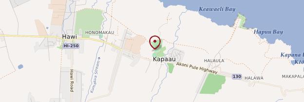 Carte Kapaau - Hawaii