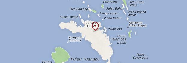 Carte Pulau Banyak - Sumatra