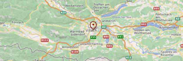 Carte Villach - Autriche