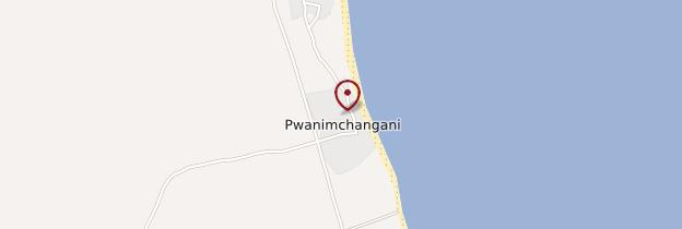 Carte Pwani Mchangani - Zanzibar