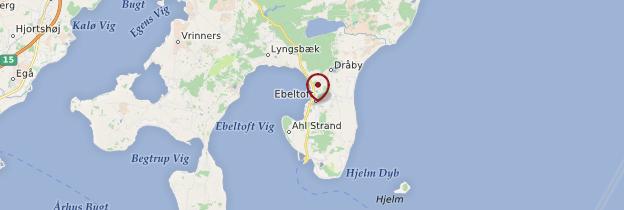 Carte Ebeltoft - Danemark