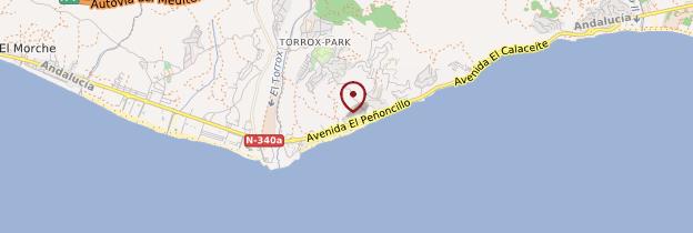 Torrox Espagne Carte.Torrox Costa Costa Del Sol Et Arriere Pays Guide Et