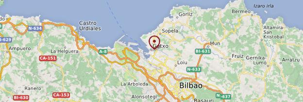 Carte Getxo - Espagne