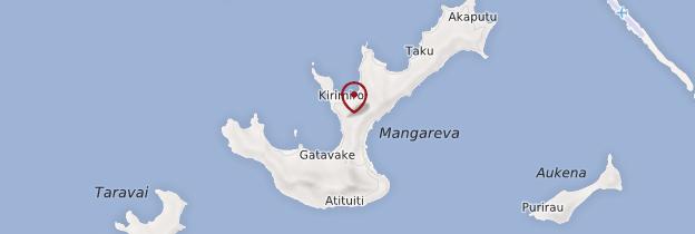 mangareva-carte-de-polynesie - Photo