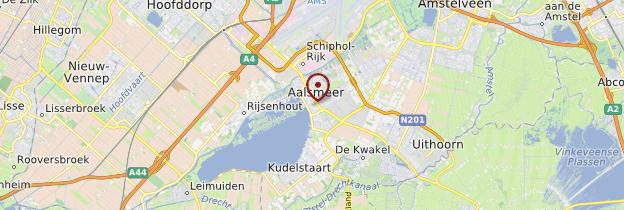 Carte Aalsmeer - Pays-Bas