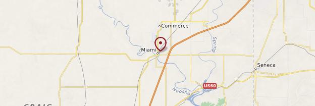 Carte Miami - États-Unis