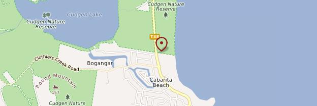 Carte Cabarita Beach - Australie