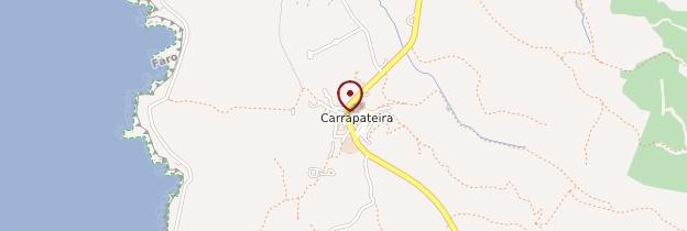 Carte Carrapateira - Portugal