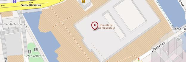 Carte Île des Musées (Museumsinsel) - Berlin
