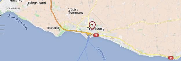 Carte Trelleborg - Suède