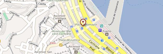 Carte Plaza Sotomayor - Chili