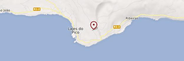 Carte Lajes do Pico - Açores