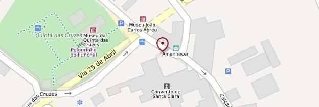 Carte Convento de Santa Clara - Madère
