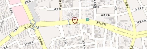 Carte Vieille ville chinoise - Shanghai
