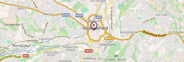 Huddersfield Carte Angleterre.Huddersfield Angleterre Du Nord Ouest Guide Et Photos