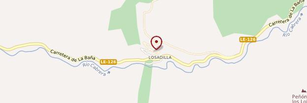 Carte Losadilla - Espagne