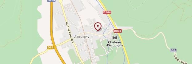 Carte Acquigny - Normandie