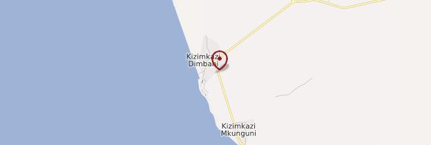 Carte Kizimkazi - Zanzibar